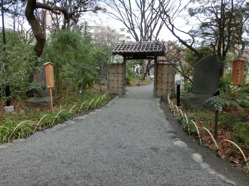 向島百花園 入り口