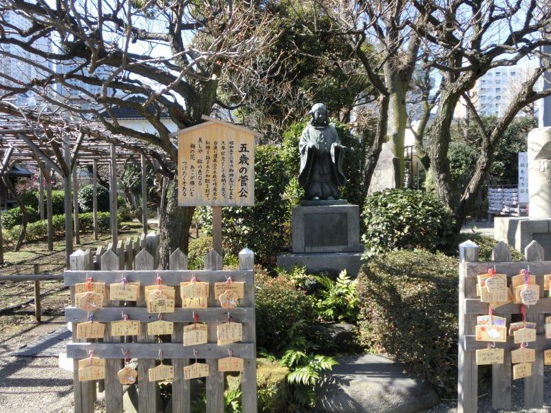 菅原道真公の像