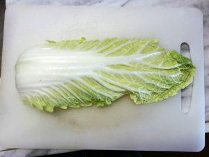白菜の葉1枚
