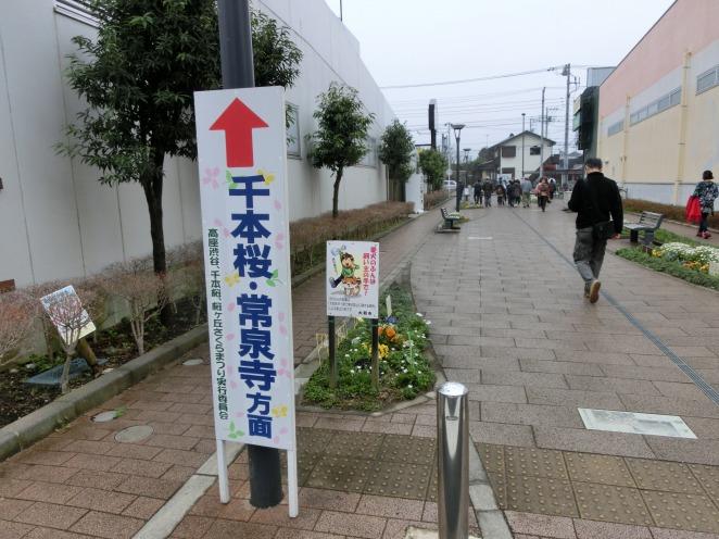 大和市常泉寺への道