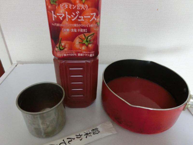 トマト寒天材料