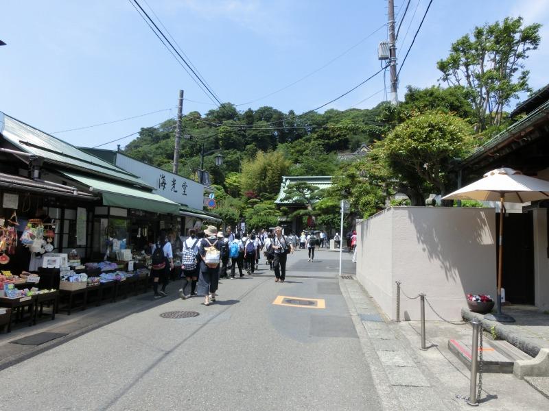 長谷寺への道