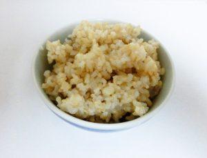 寒天入り玄米ご飯