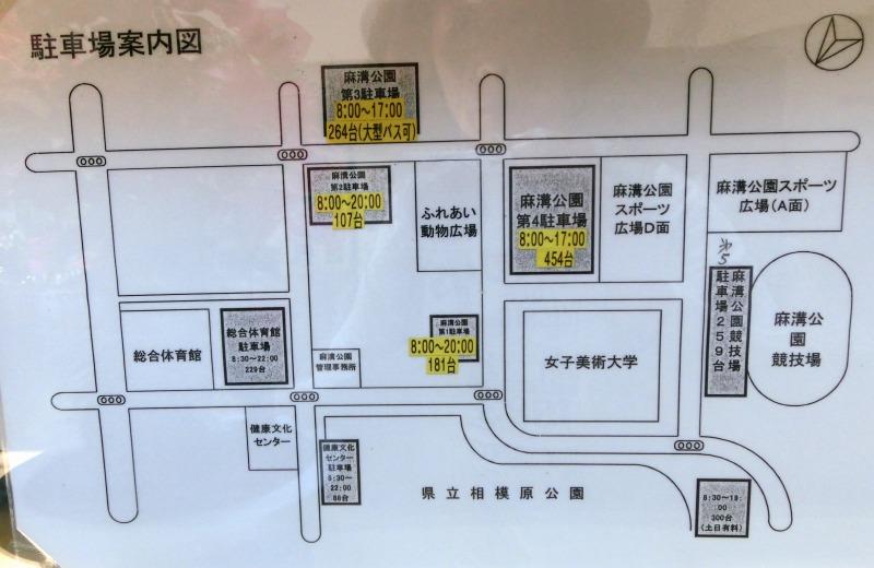 駐車場位置図