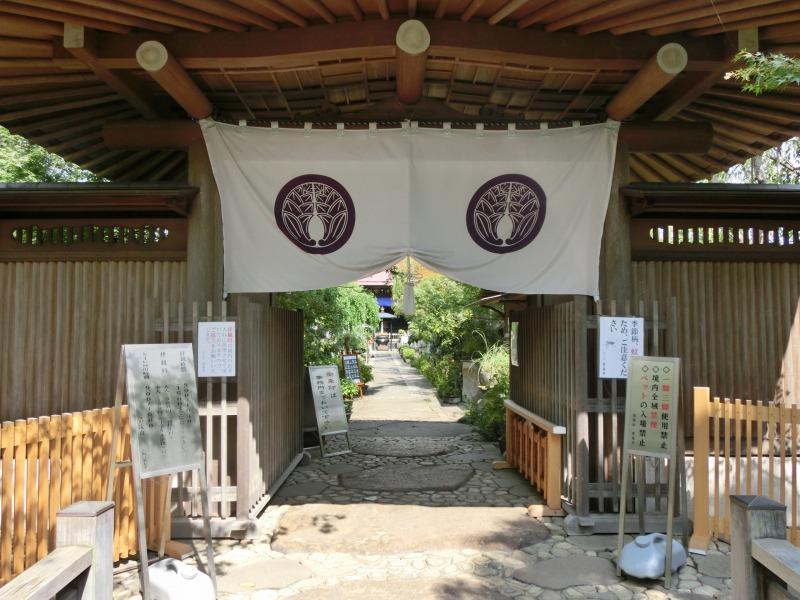 常泉寺入り口