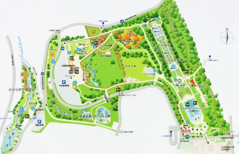 相模原公園地図