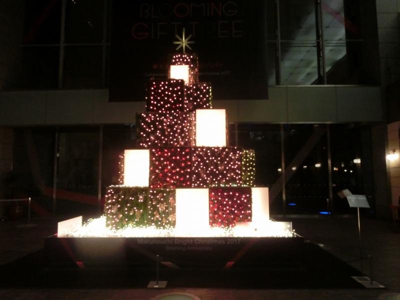 オアゾクリスマスツリー