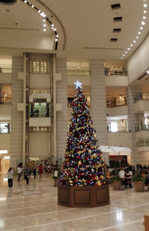 ゲーオシティのクリスマスツリー