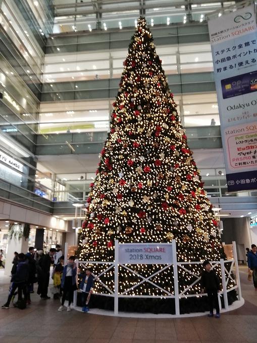 相模大野ステスククリスマスツリー