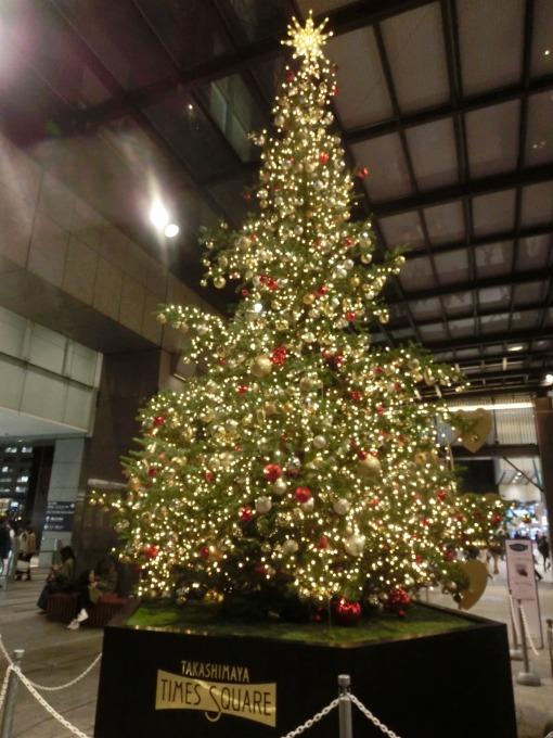 タカシマヤのクリスマスツリー