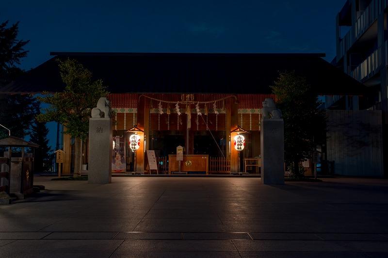 赤城神社夜