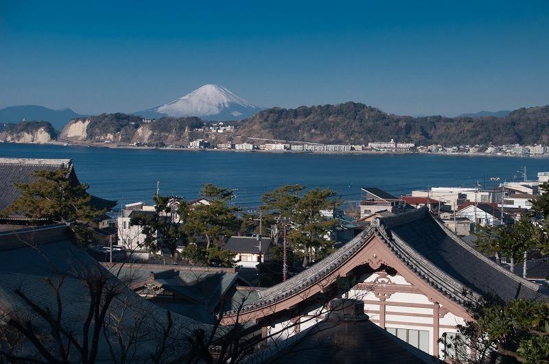 光明寺の眺望