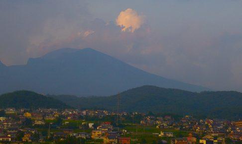 八ヶ岳を望む