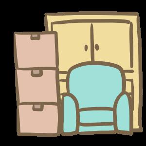 引っ越し荷物