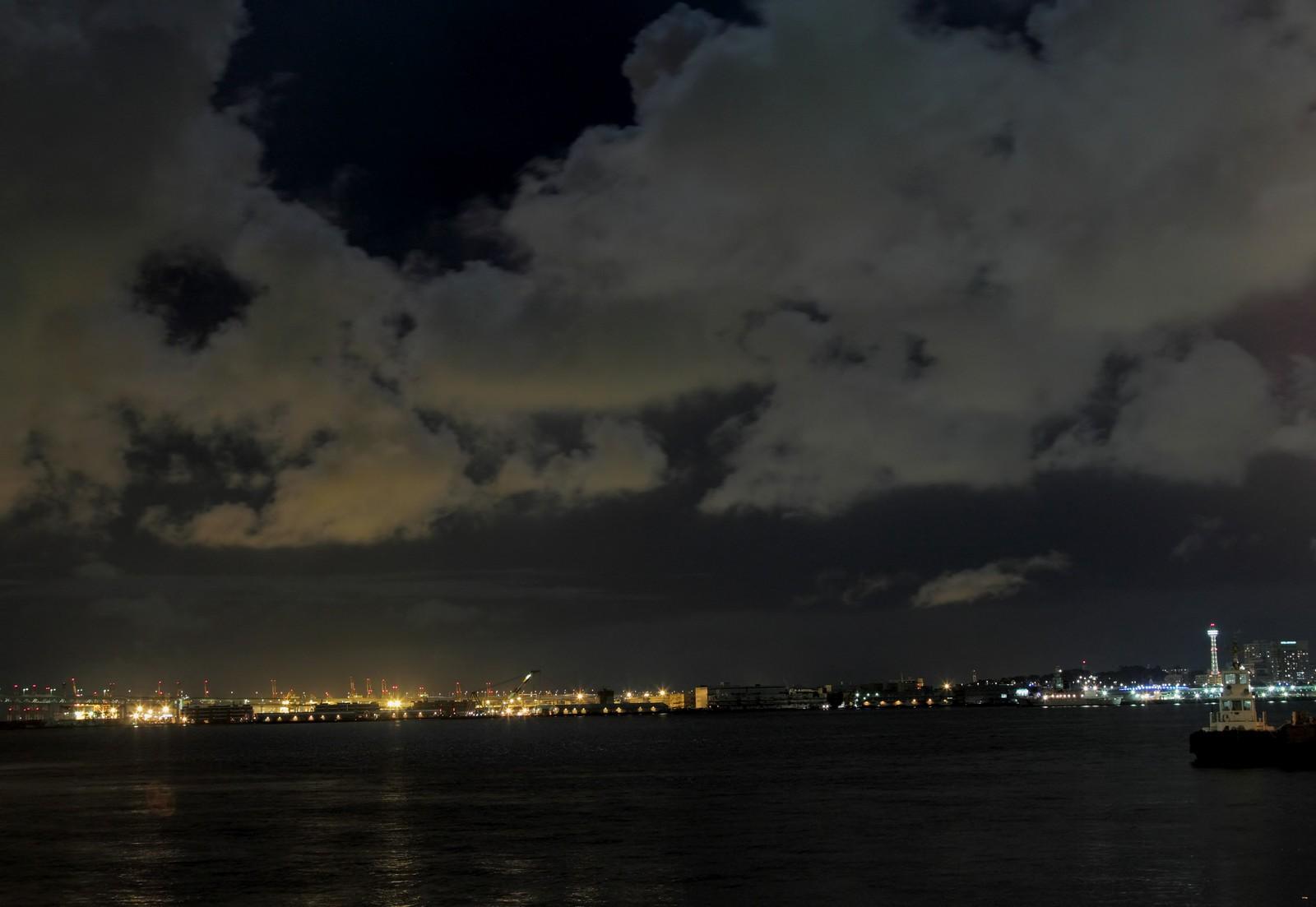 江川海岸と京浜工業地帯