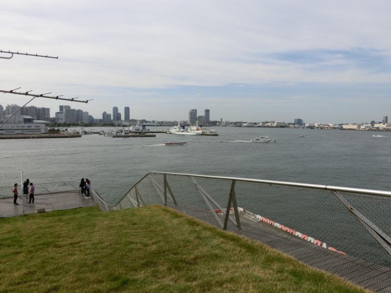 大さん橋からの景色