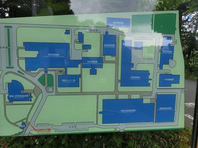 キャンパス内地図