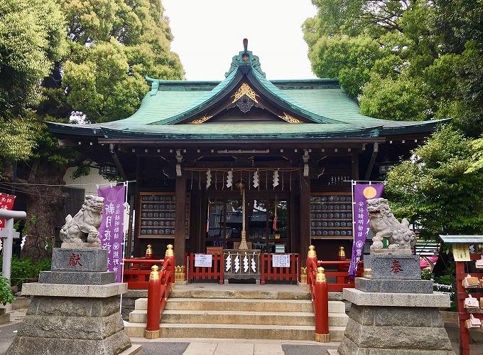 葛飾の熊野神社