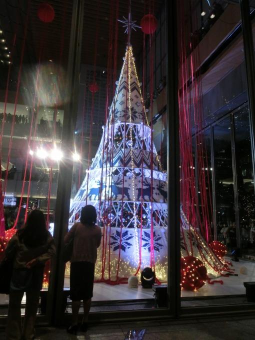 新丸ビルクリスマスイルミネーション