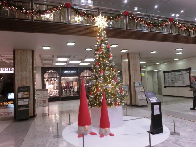 国際ビルクリスマスツリー