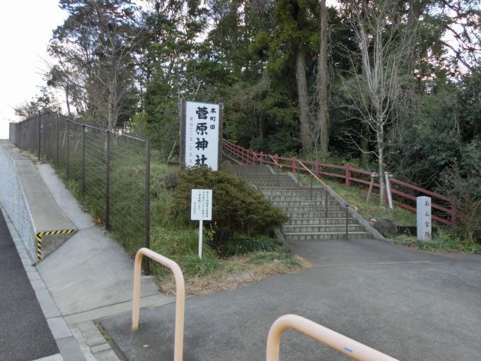 おんな坂の階段
