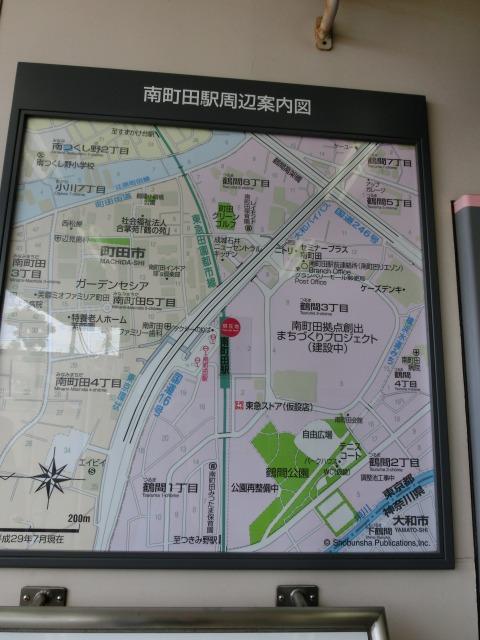 南町田地図