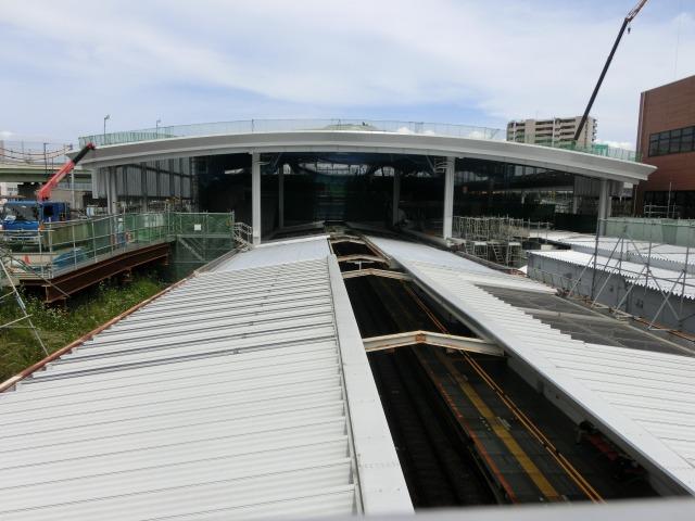 南町田駅の工事